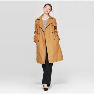 A NEW DAY Water-Resistant Oversized Trench Coat